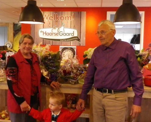 Nico & Janny van Rossum met de 4e generatie