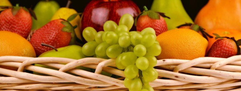 Fruitmanden van Plattelandswinkel De Haarse Gaard